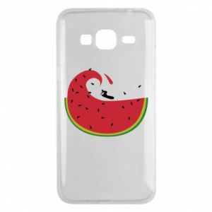 Phone case for Samsung J3 2016 Watermelon