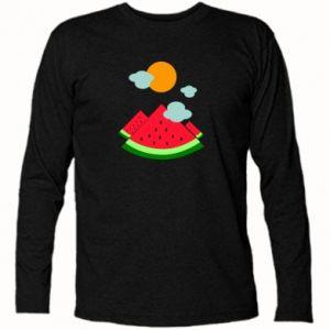 Long Sleeve T-shirt Watermelon