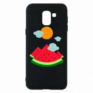Phone case for Samsung J6 Watermelon