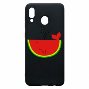 Samsung A30 Case Watermelon