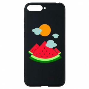 Phone case for Huawei Y6 2018 Watermelon