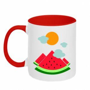 Two-toned mug Watermelon