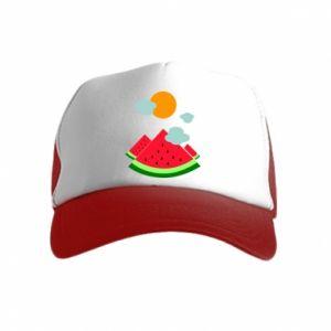 Kid's Trucker Hat Watermelon