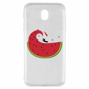 Samsung J7 2017 Case Watermelon