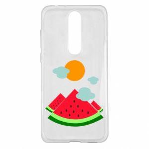 Nokia 5.1 Plus Case Watermelon