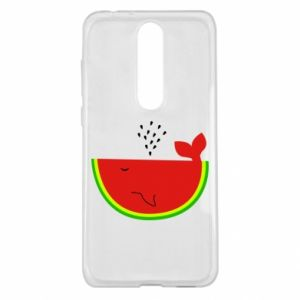Nokia 5.1 Plus Case Watermelon