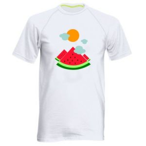 Men's sports t-shirt Watermelon