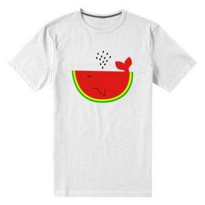 Męska premium koszulka Arbuz - PrintSalon