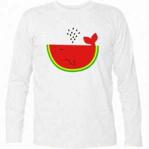 Koszulka z długim rękawem Arbuz - PrintSalon