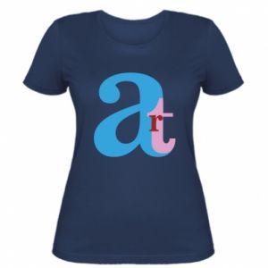 Women's t-shirt Art
