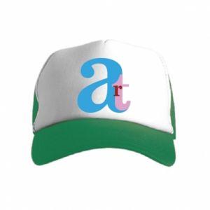 Kid's Trucker Hat Art