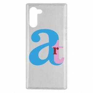 Samsung Note 10 Case Art