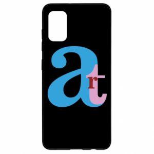 Samsung A41 Case Art