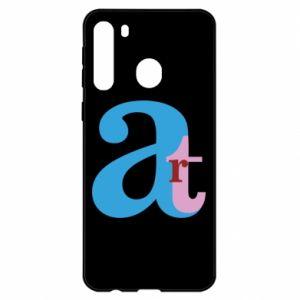 Samsung A21 Case Art