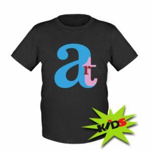 Kids T-shirt Art