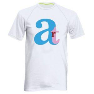 Men's sports t-shirt Art