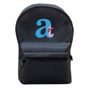 Backpack with front pocket Art