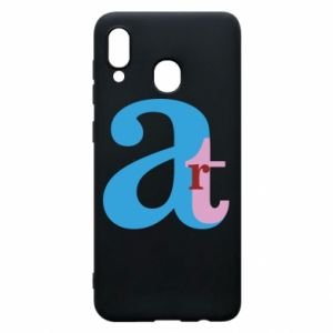Samsung A20 Case Art
