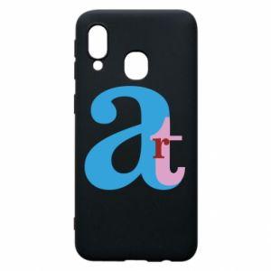 Samsung A40 Case Art