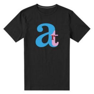 Męska premium koszulka Art