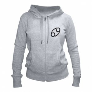 Women's zip up hoodies Astronomical designation Cancer - PrintSalon