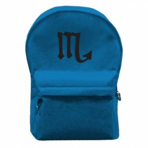 Backpack with front pocket Astronomical designation of Scorpio