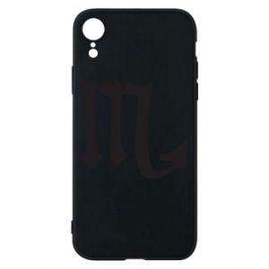 Phone case for iPhone XR Astronomical designation of Scorpio