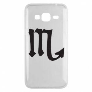 Phone case for Samsung J3 2016 Astronomical designation of Scorpio
