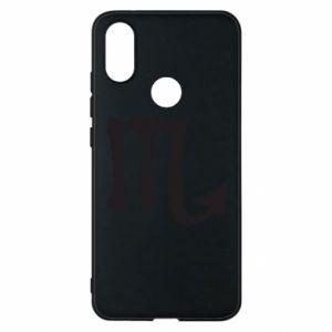 Phone case for Xiaomi Mi A2 Astronomical designation of Scorpio