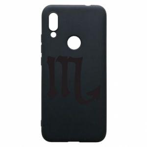 Phone case for Xiaomi Redmi 7 Astronomical designation of Scorpio