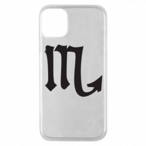 Phone case for iPhone 11 Pro Astronomical designation of Scorpio
