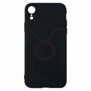 Phone case for iPhone XR Astronomical designation Taurus - PrintSalon
