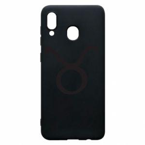 Phone case for Samsung A20 Astronomical designation Taurus