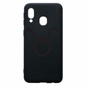 Phone case for Samsung A40 Astronomical designation Taurus