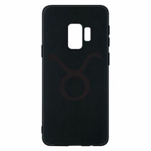 Phone case for Samsung S9 Astronomical designation Taurus - PrintSalon