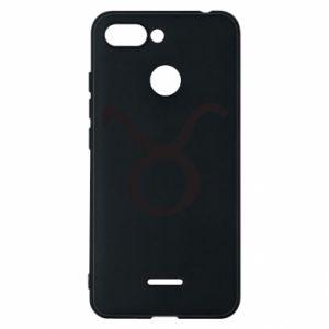 Phone case for Xiaomi Redmi 6 Astronomical designation Taurus - PrintSalon
