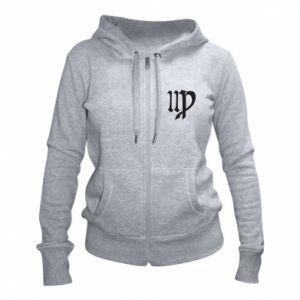 Women's zip up hoodies Astronomical Sign of the Zodiac Virgo - PrintSalon