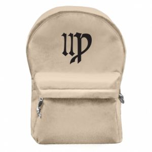 Backpack with front pocket Astronomical Sign of the Zodiac Virgo - PrintSalon