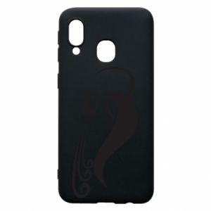 Phone case for Samsung A40 Astronomical Zodiac Sign Aquarius