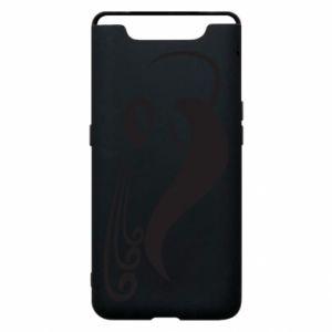 Phone case for Samsung A80 Astronomical Zodiac Sign Aquarius