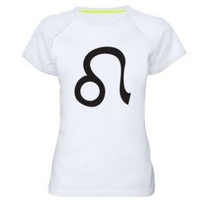 Koszulka sportowa damska Astronomical zodiac sign Leo