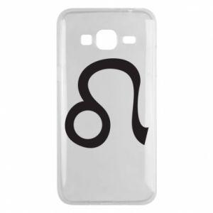 Etui na Samsung J3 2016 Astronomical zodiac sign Leo