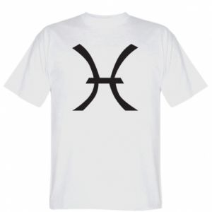 Koszulka Astronomical zodiac sign Pisces