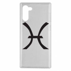 Etui na Samsung Note 10 Astronomical zodiac sign Pisces