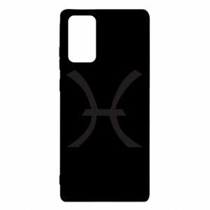 Etui na Samsung Note 20 Astronomical zodiac sign Pisces