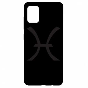 Etui na Samsung A51 Astronomical zodiac sign Pisces