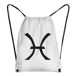 Backpack-bag Astronomical zodiac sign Pisces - PrintSalon