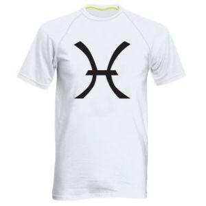 Men's sports t-shirt Astronomical zodiac sign Pisces - PrintSalon