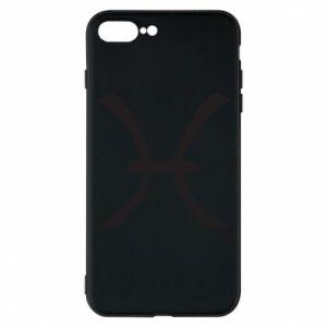 Phone case for iPhone 8 Plus Astronomical zodiac sign Pisces - PrintSalon
