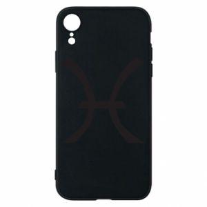 Phone case for iPhone XR Astronomical zodiac sign Pisces - PrintSalon